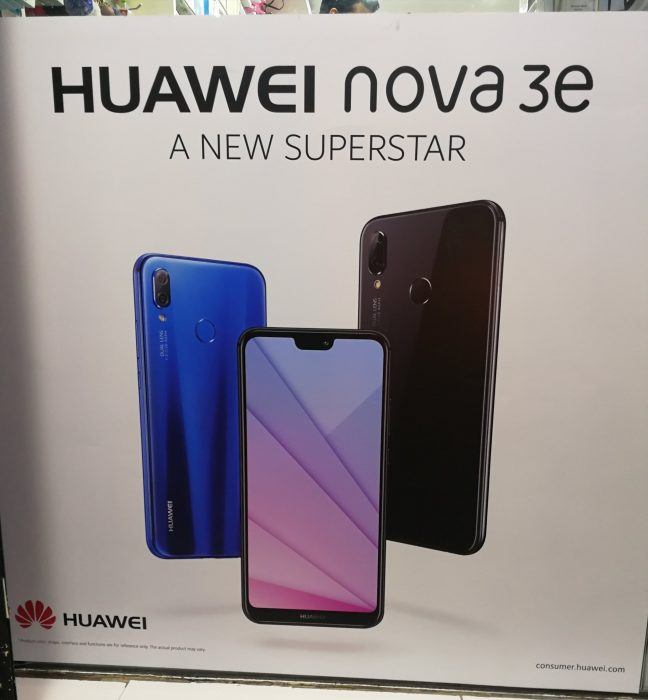 Huawei P20 Lite to also hit China as the Huawei NOVA 3e