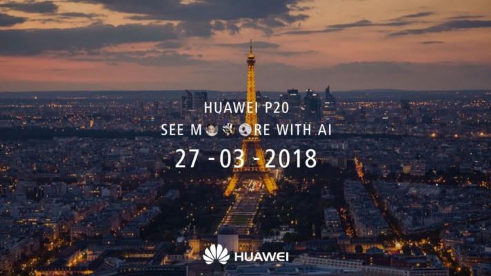 Huawei unveil the P20 range