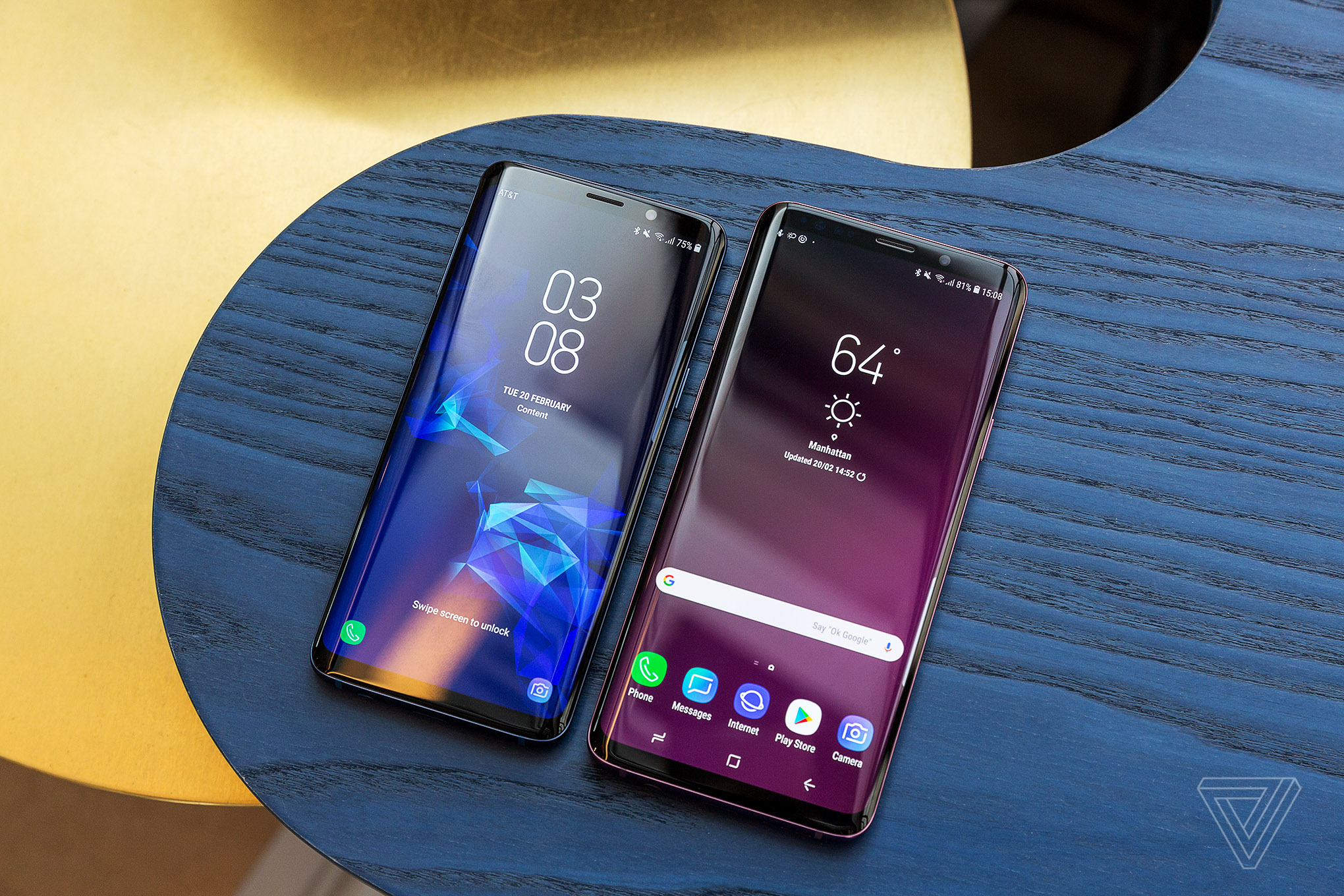 Mobilplånbok Samsung Galaxy S9