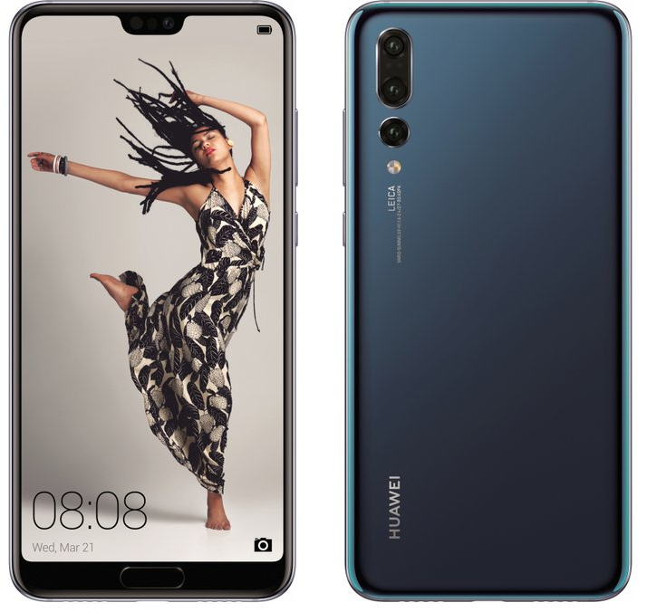 Huawei unveil the P20 range