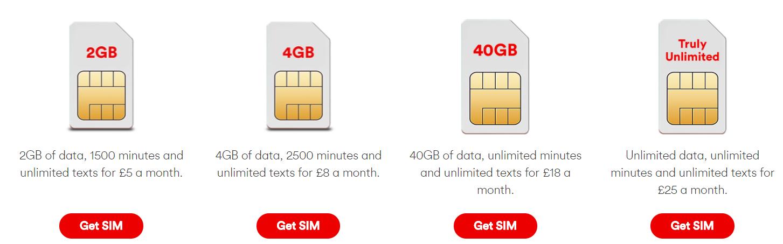 Calling Virgin Media Customers Sim Only Deals Coolsmartphone