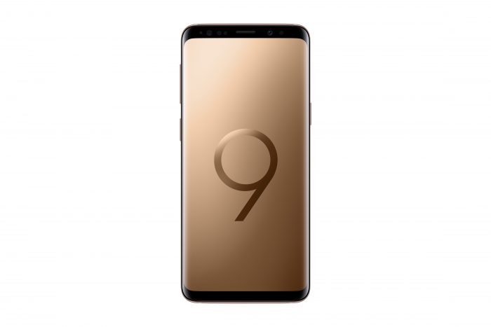Samsung Galaxy S9 and S9+ now in Gold!!
