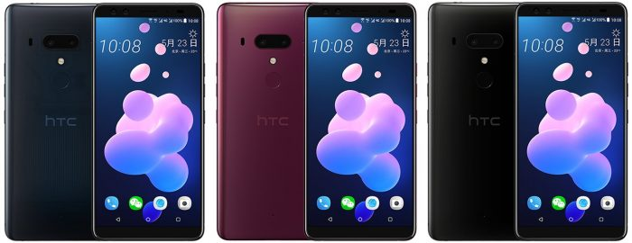 HTC U12+ Snapped in leaked shots