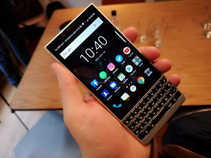 BlackBerry Key2 announced