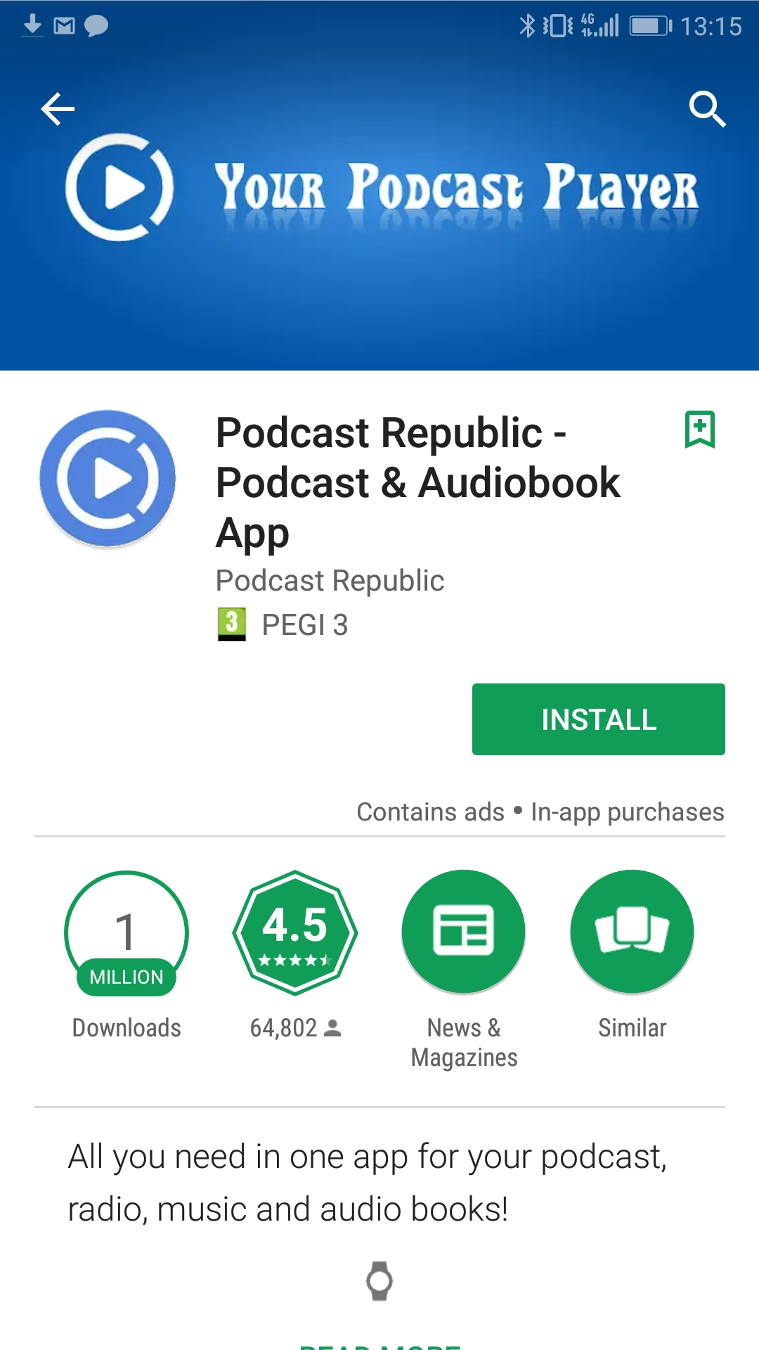 Get our podcast on one of these 5 Android podcast apps