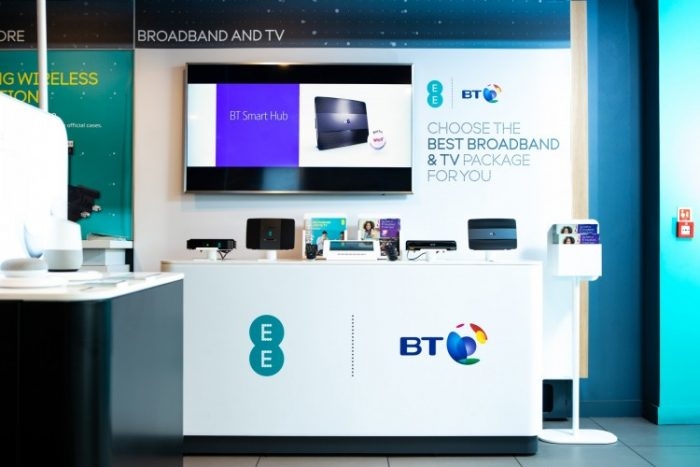 EE and BT   Speed, convergence and customer service