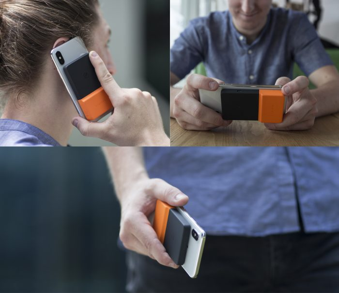 Running low on juice? Strap a brick to your phone!