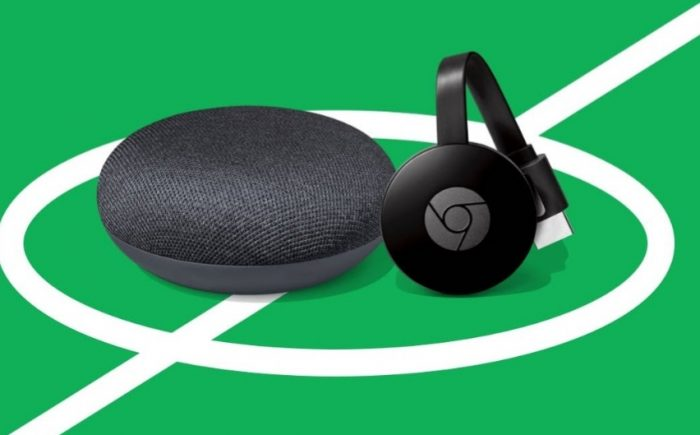Just £10 for a Chromecast when you buy a Google Home Mini
