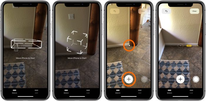 how to use arkit measure app ios 12 iphone 1