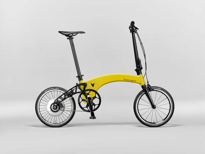 An electric folding bike thats actually light? Meet the Hummingbird