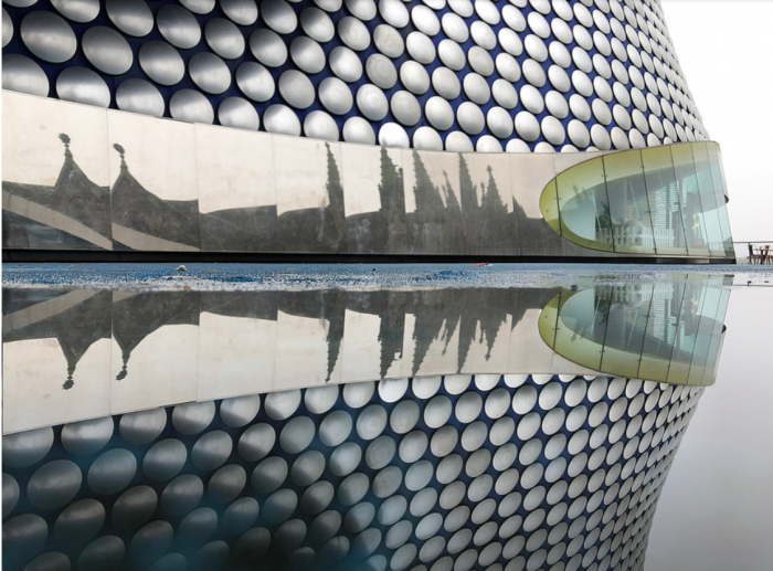 One of the best photographs of Birmingham, taken on an iPhone