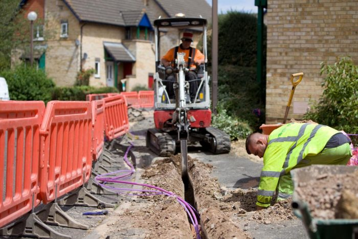 Vodafone crank it up   1 Gigabit Broadband being delivered to homes