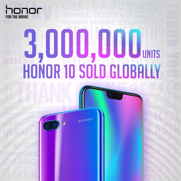 Honor sees a massive 150% sales growth in the first half of 2018