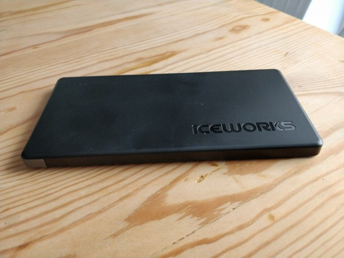 Iceworks 7000mAh USB Type C power bank   Review