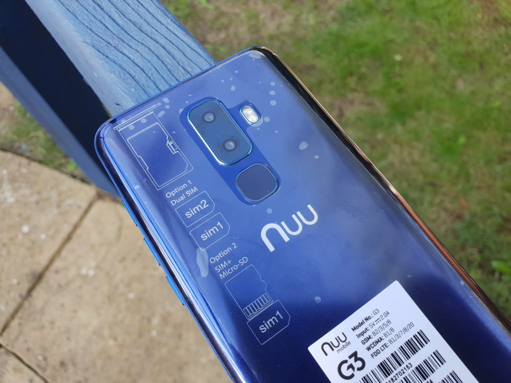 A new phone from Nuu Mobile, the G3  Review