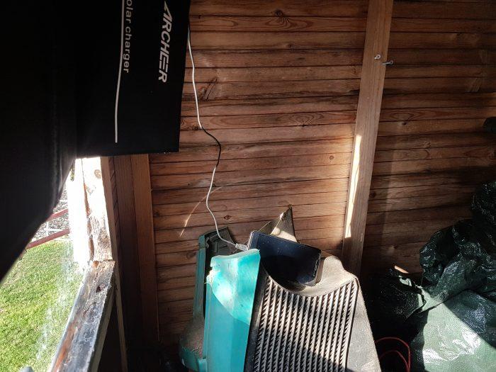 Random strange shed project. Day 3