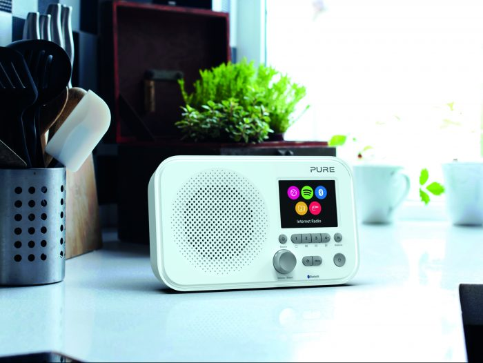 Pure launches the Elan IR3 and IR5. Internet radio in a sleek package.