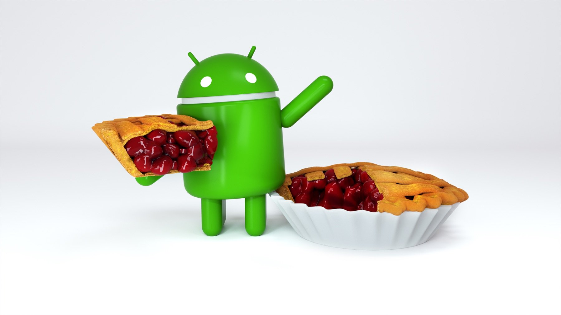 Android 9 Pie starts baking