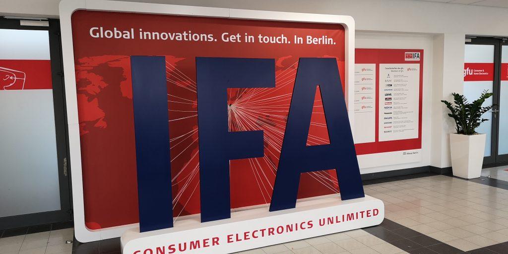 IFA 2018   It begins