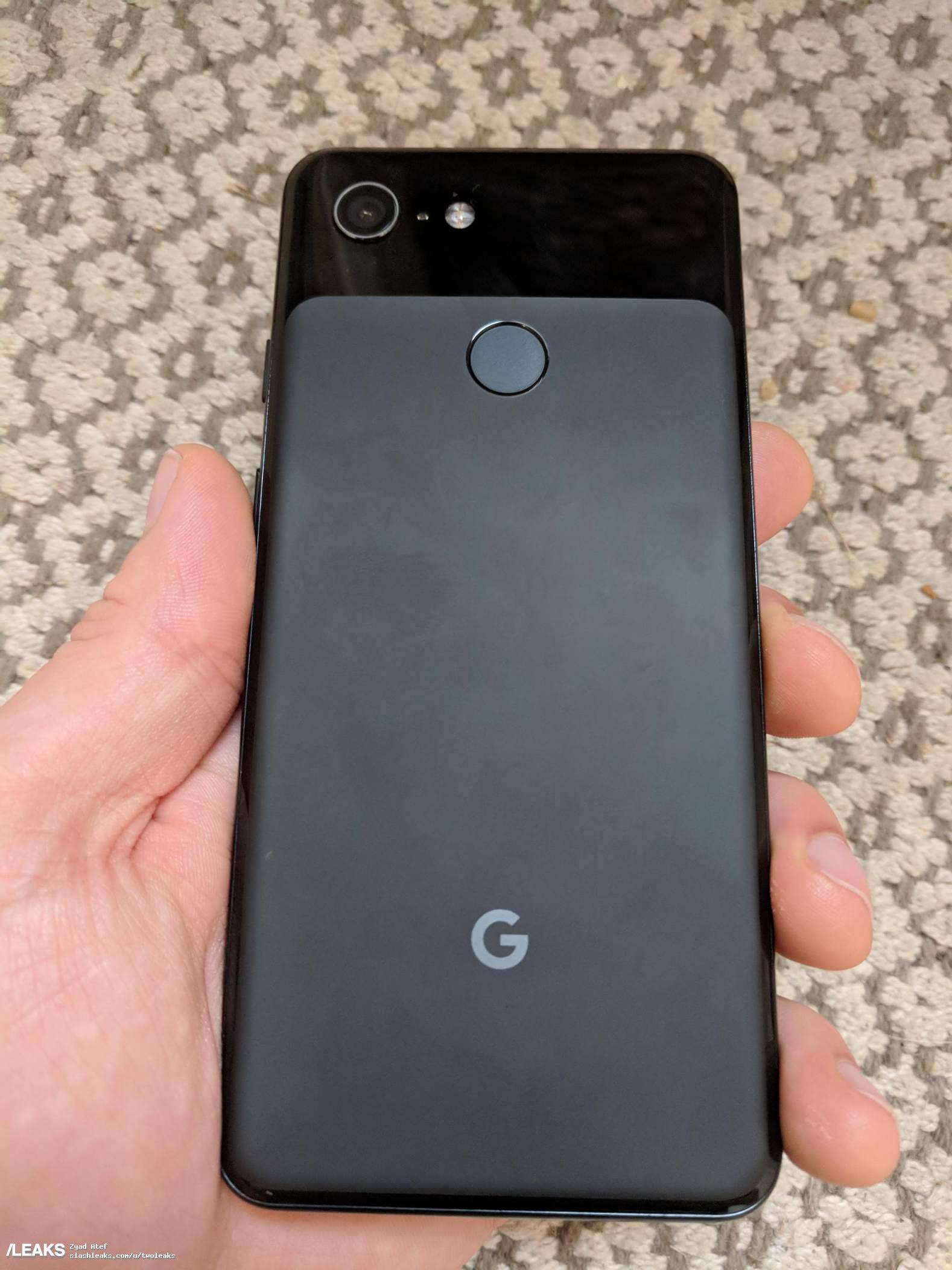 Google Pixel 3 finally leaks