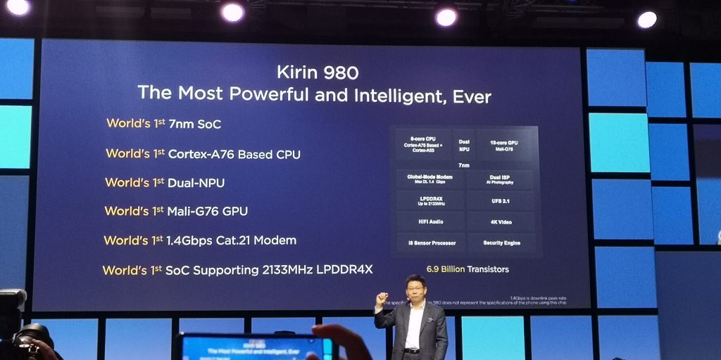 Huawei Unveil the Kirin 980   IFA2018