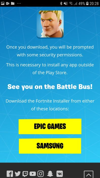 NOW AVAILABLE. Fortnite for Android. We go in! (VIDEO)