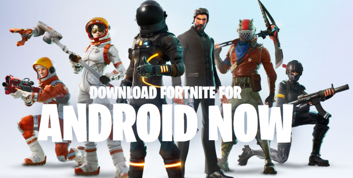 Fortnite for Android. It continues.