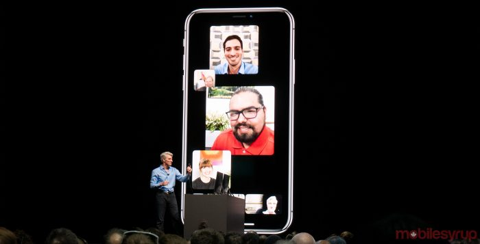 Apple removes Group Facetime from iOS12 launch
