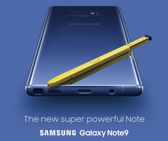 Samsung Galaxy Note 9 coming to Sky Mobile