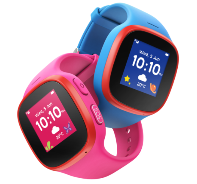Back to school. Keep them safe with this clever watch.