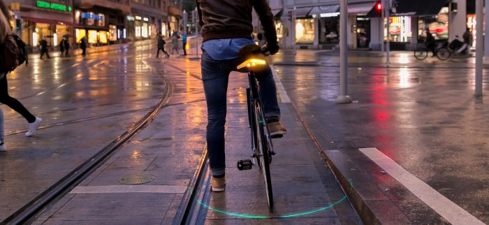 Smart bike lighting. Get Blinkers