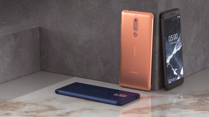 The Nokia 5.1 comes back to the UK