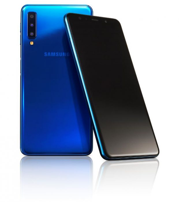 Samsung unveil the Galaxy A7