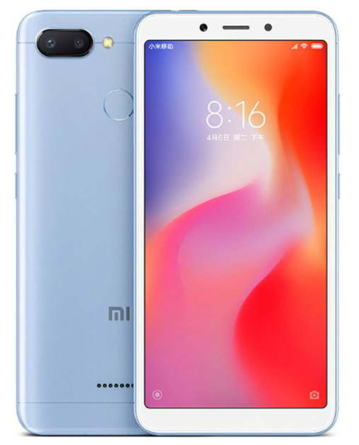 Less than £100   The Xiaomi Redmi 6 3GB / 32GB