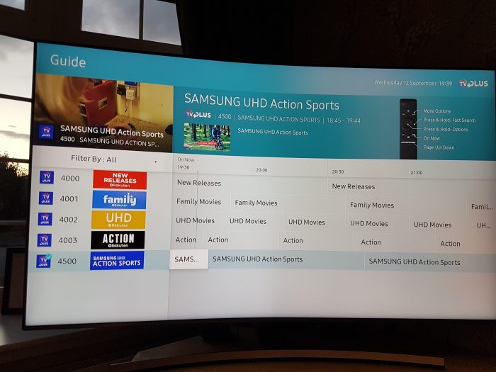 Samsung UE65NU8500 65 Smart 4K Ultra HD HDR Curved Led TV   Review