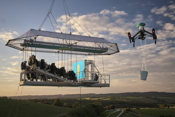 So, err.. EE put a cinema in the sky