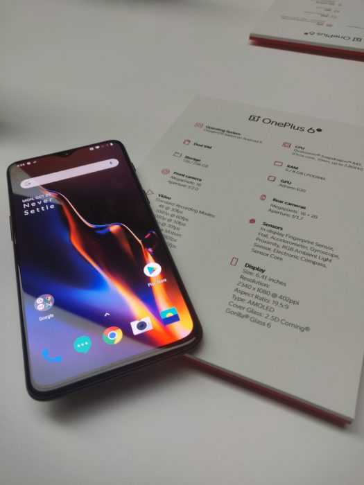 OnePlus 6T   Screen Unlock demo