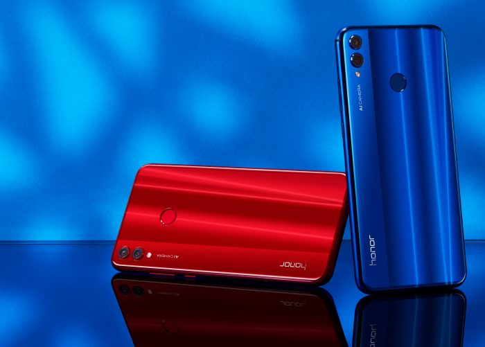 Johnson Honor 8x Blue Red (2)
