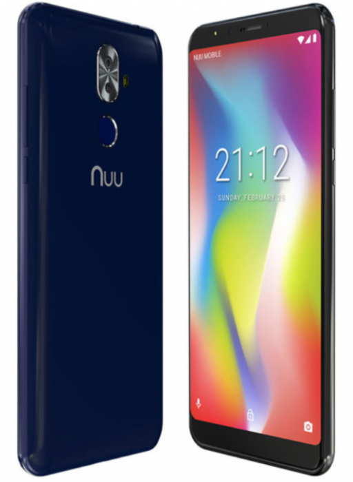 NUU Mobile launch the G2. Available in a couple of days for £179.99