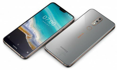 Announced   The Nokia 7.1