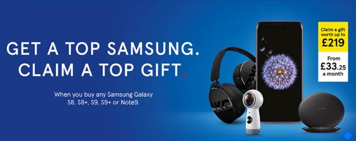 Tesco dishing out free gifts with Samsung smartphones