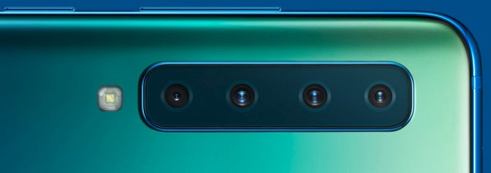 Samsung reveals the Galaxy A9... with 4 cameras on the back