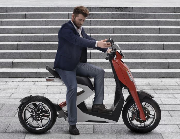 Unveiled. The Zap i300 fully electric scooter.