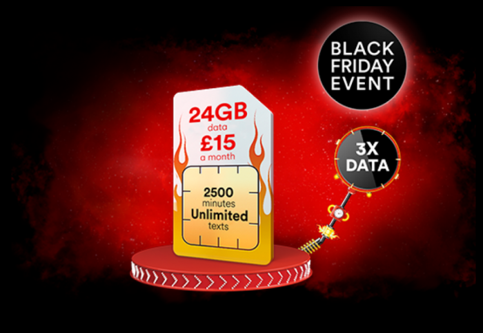 Black Friday deals   Virgin Mobile dishing up 24GB of data for just £15