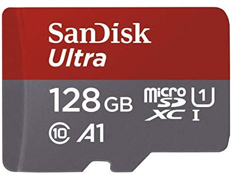 128GB microSD card. £17.48. Even cheaper if you have Amazon Prime