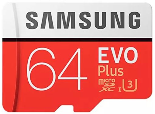 Deal   Samsung 64GB microSD card   Dirt cheap