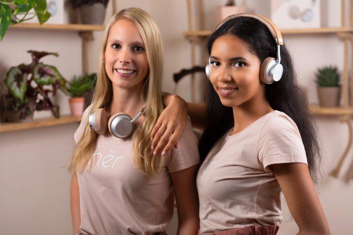 Hër, the Stylish On Ear Bluetooth Stereo Headphones