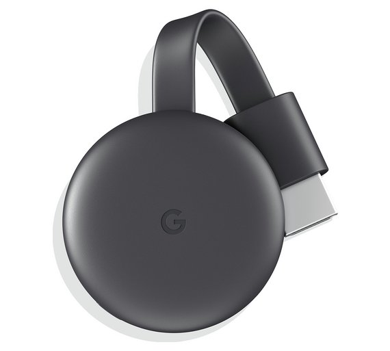 Google Chromecast   Stick this in your port