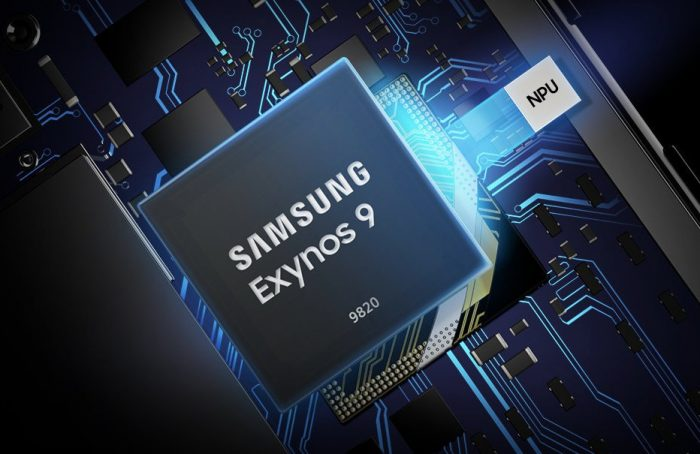 Samsung unveils the 8nm Exynos 9820 Chipset.