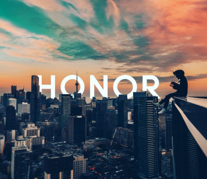 Honor launch their new logo.. but.. I have a problem